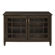 Simpli Home Connaught 2 Door Low Storage Cabinet