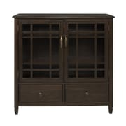 Simpli Home Connaught 2 Door Tall Storage Cabinet