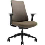 Via Seating Task Seating Mesh Desk Chair; Graphite