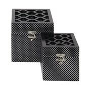 Woodland Imports 2 Piece Mirror Box Set (Set of 2)