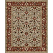 Due Process Stable Trading Co Meshed Hand-Tufted Sand/Clay Area Rug; 3'6'' x 5'6''