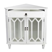 Heather Ann 1 Drawer 2 Door Chest; White