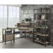 Turnkey LLC Franklin Corner Desk with Hutch, File and Bookcase