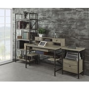 Turnkey LLC Franklin Writing Desk with Hutch, File and Bookcase