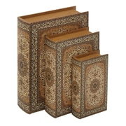 Woodland Imports 3 Piece Book Box Set