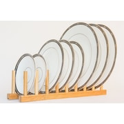 Axis International Bamboo Plate Rack