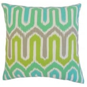 The Pillow Collection Cahya Geometric Outdoor Throw Pillow; 20'' x 20''
