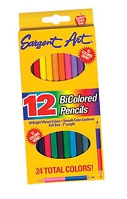 Sargent Art Inc Sargent Art Bicolored Pencils WYF078276591123