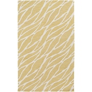 Artistic Weavers Arise Willa Hand Tufted Gold/Ivory Area Rug; 5' x 8'