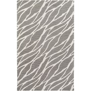Artistic Weavers Arise Willa Hand Tufted Grey/Ivory Area Rug; 5' x 8'