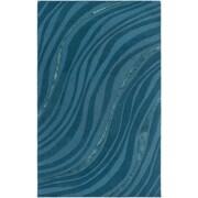 Artistic Weavers Lounge Carmen Hand Tufted Teal/Dark Blue Area Rug; 5' x 8'