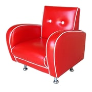 Red Vanilla Flambay Kids Club Chair; Red