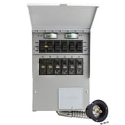 Reliance Controls Pro/Tran 30-Amp 6-Circuit 2 Manual Transfer Switch with Optional Power Inlet