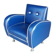 Red Vanilla Flambay Kids Club Chair; Blue