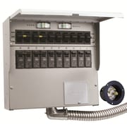 Reliance Controls Pro/Tran 30-Amp 10-Circuit 2 Manual Transfer Switch with Optional Power Inlet