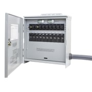 Reliance Controls Pro/Tran Outdoor 30-Amp 10-Circuit 2 Manual Transfer Switch w/L14-30 Power Inlet