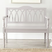 Safavieh Benjamin Entryway Bench; Grey