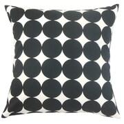 The Pillow Collection Zooey Polka Dot Throw Pillow Cover