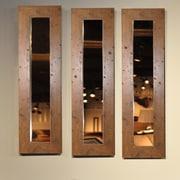 Rayne Mirrors Molly Dawn Rustic Mirror Panel; 29.5'' H x 15.5'' W x 0.75'' D