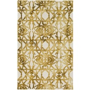 Artistic Weavers Organic Avery Hand Tufted Gold/Off-White Area Rug; 8' x 10'