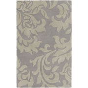 Artistic Weavers Lounge Heidi Hand Tufted Silver/Grey Area Rug; 4' x 6'