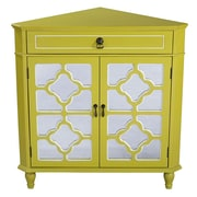 Heather Ann 1 Drawer 2 Door Chest; Yellow