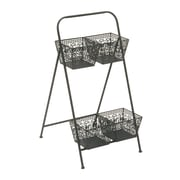 Woodland Imports 2 Tier Rack