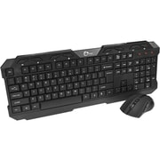 SIIG® JK-WR0J12-S1 USB Wireless Optical Extra-Duo Keyboard/Mouse Combo (JK-WR0J12-S1)