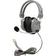 Hamilton Buhl  SchoolMate Deluxe  HA7M Wired Stereo Headset, Gray