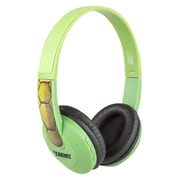 Sakar® Bluetooth Kids Safe HP2-06065 Over-The-Head Stereo Headphone, Teenage Mutant Ninja Turtles