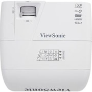 ViewSonic PJD6550LW 1280 x 800 Networkable Projector, White/Gray