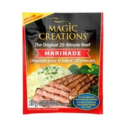 Magic Creations™ The Original 20 Beef Marinade, 25% Reduced Sodium, 50 x 25g Sachets