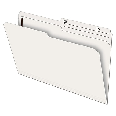 Pendaflex® Recycled Slimtrim™ Double-Top File Folder with # 1 Fastener Position, Legal Size, Ivory