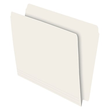 Pendaflex® Letter Full End-Tab Letter File Folder with Single Ply Tab, Ivory, 100/Box