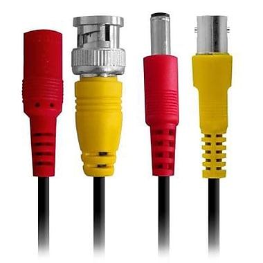 Câble rallonge Defender Pro résistant au feu pour caméra de sécurité, 130 pi