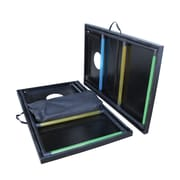 Triumph Sports USA 2-in-1 Tournament Bag Toss and Ladder Toss Set