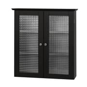 Elegant Home Fashions Chesterfield 22.25'' W x 25'' H Wall Mounted Cabinet