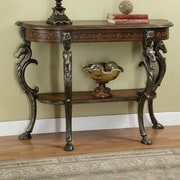 Powell Masterpiece Wild Horses Console Table