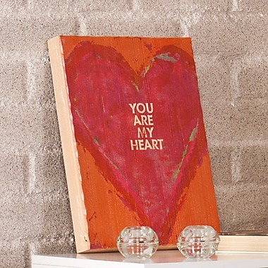 Holly & Martin Swoon ''You Are My Heart'' Framed Textual Art Plaque