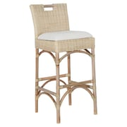 Jeffan Farrah 30'' Bar Stool with Cushion