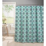 Bath Studio Oxford 13 Piece Weave Textured Shower Curtain Set