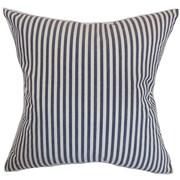 The Pillow Collection Neptune Cotton Throw Pillow; 18'' x 18''