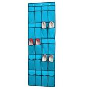 Sunbeam 20 Pocket Over The Door Shoe Organizer; Turquoise