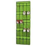 Sunbeam 20 Pocket Over The Door Shoe Organizer; Green