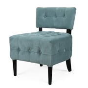 AdecoTrading Single Living Room Chair; Blue