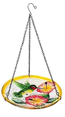Evergreen Enterprises, Inc Hummingbird Wonders Hanging Birdbath WYF078278435044