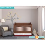 Sunny Decals Beautiful Tree Wall Decal; Beige