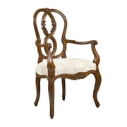 French Heritage Parc Saint-Germain Arm Chair; Light Cherry