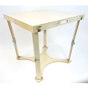 Spiderlegs Portable Folding Dining Table; Natural Birch