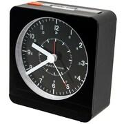 Marathon Watch Company Desk Alarm Clock; Black